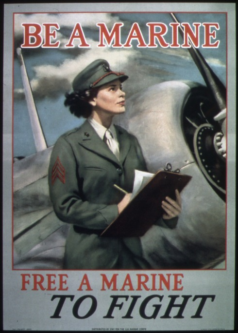_Be_a_Marine-Free_a_Marine_to_Fight__-_NARA_-_513679